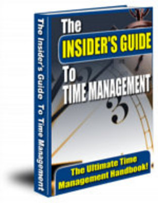 Product picture The Insider Guide to Time Management